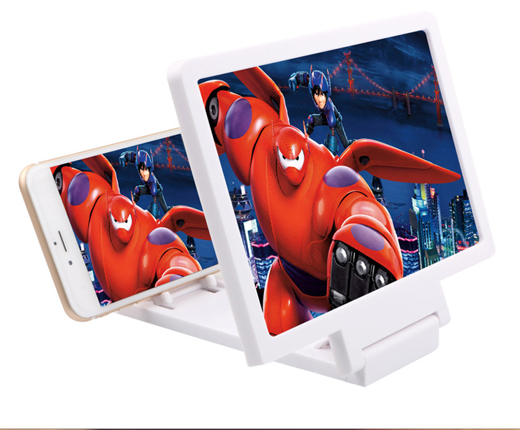 3D film deity mobile phone HD screen amplifier, eye protection, eye protection and radiation protection