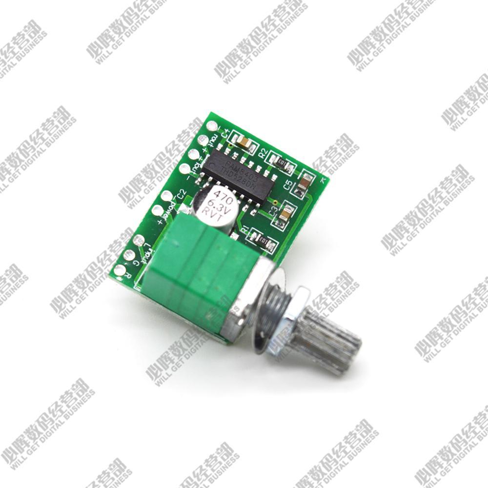 pam8403 5v มินิแอมป์มิเตอร์ดิจิตอลขนาดเล็กแถบสลับแหล่งจ่ายไฟ USB เสียงอาจจะดี
