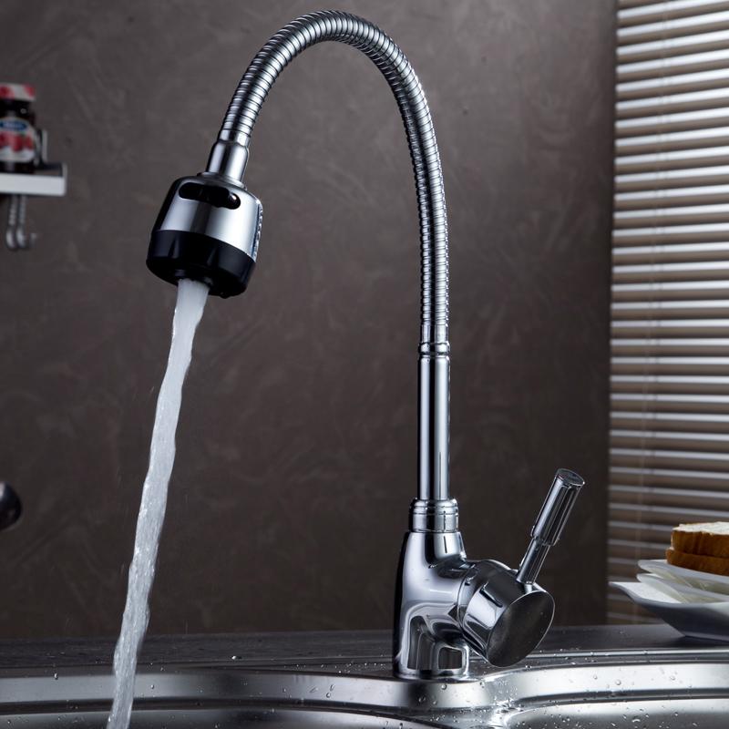 Cozinha PIA de água Quente de extensão universal europeu Cobre toda a cabeça à Prova de salpicos de água pia torneira giratória