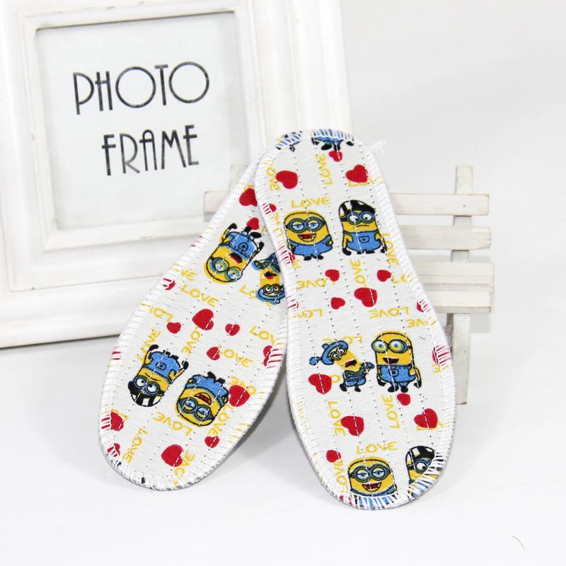 男女童鞋垫纯棉布宝宝春秋冬季包边儿童专用鞋垫男童防臭透气吸汗