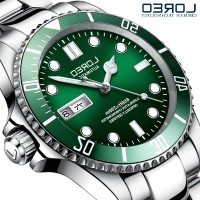 Longines Ming carpenter Swiss official flagship submariner watch men mechanical watches automatic stainless steel waterproof luminous