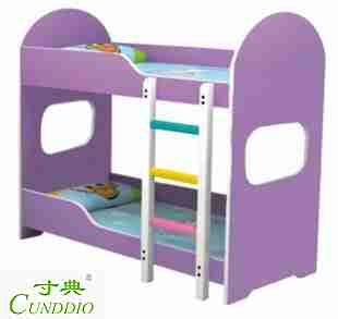 Kindergarten parent child garden, children's lunch bed, lunch bed modeling, double bed fireproof board, upstairs and downstairs bed
