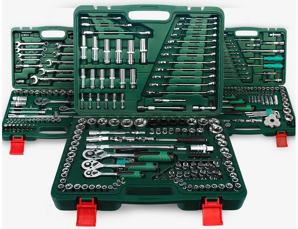 Set and auto repair factory boxed hardware kit car auto repair company in six flower board extension started