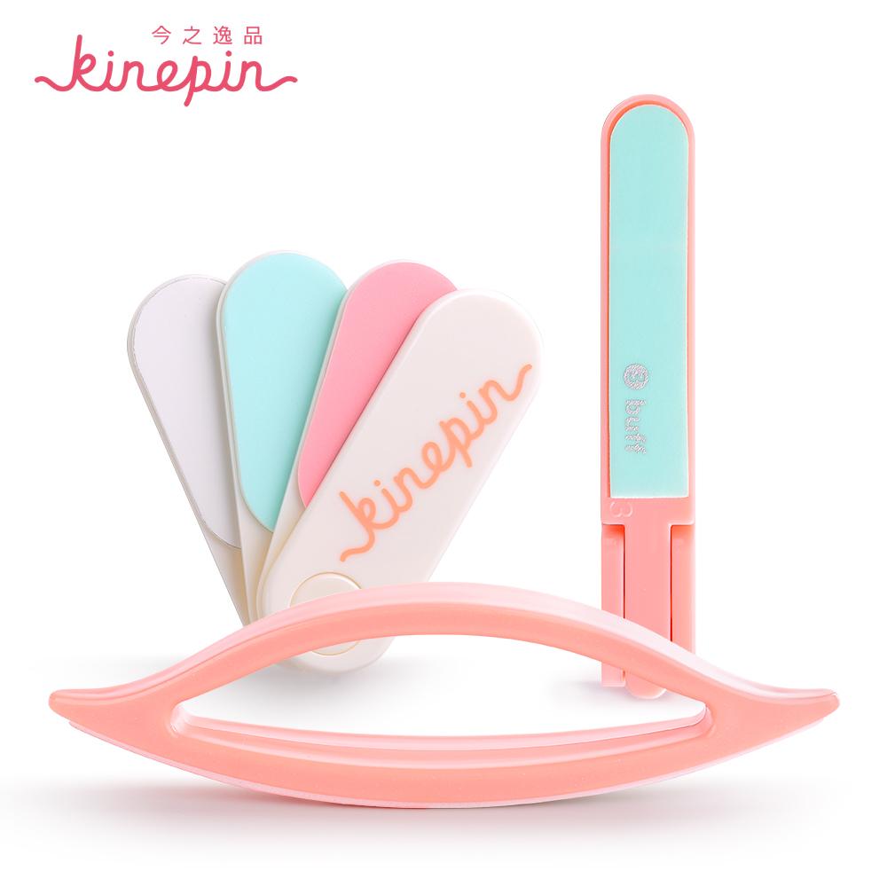 KINEPIN сегодня карата Полировка ногтей напильник многогранное цветной скраб пилочку для ногтей лист / блок