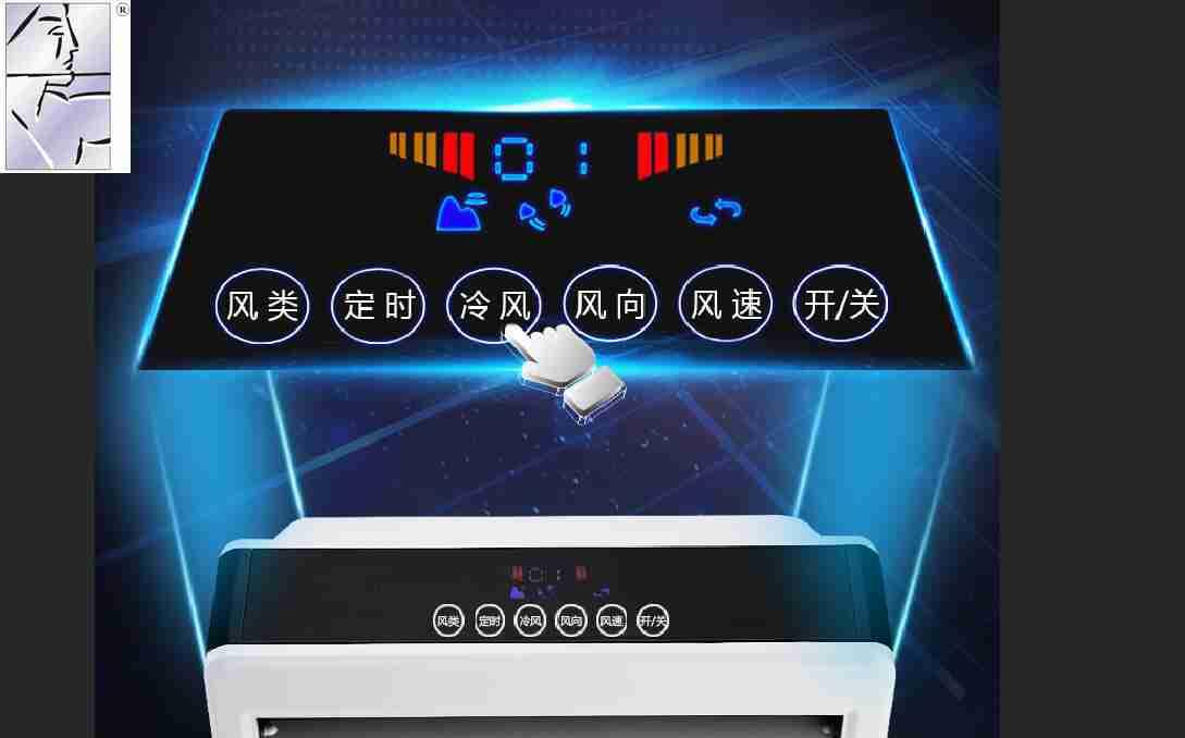 Klimaanlage, Ventilator - Single - Haushalte befeuchtung lüfter Stumm fernbedienung ALS mobile Kleine klimaanlage sparen -