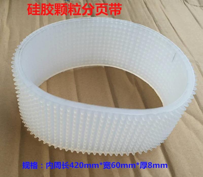 La Cintura di Pelle di Gomma per la pressione di gel di silice deflettore di tipo inverso di attrito Ruota stampante a Getto d'inchiostro con Denti di nastro trasportatore universale