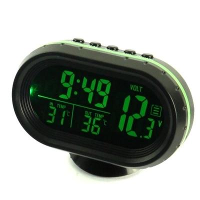 bil klockan två termometer monterade på fordon och fordon med digital display elektroniska bandet för elektroniska.