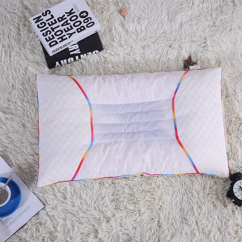 天然ラテックス枕養生護頚保健頸椎枕低反発記憶快眠枕粒ケツメイシ草本