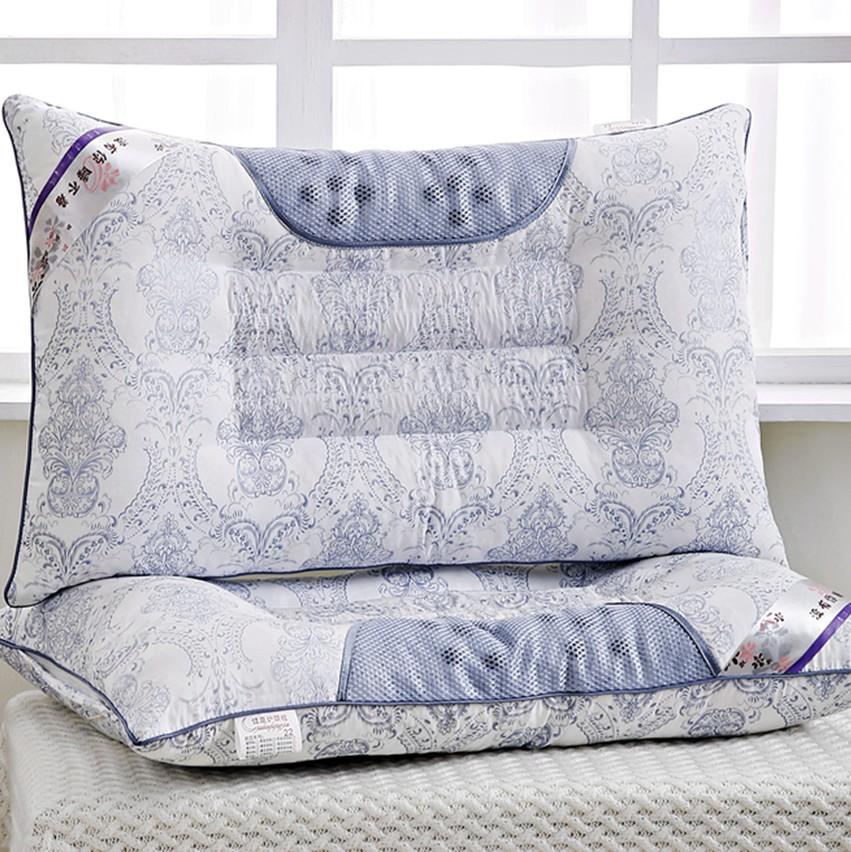 枕枕コーナー一対決明子護頚保健の枕枕綿成人シングル規格品のラベンダー蕎麦