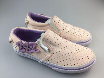 只卖真鞋 万家 日本支线 童鞋 婴儿鞋 一脚蹬帆布鞋  侧