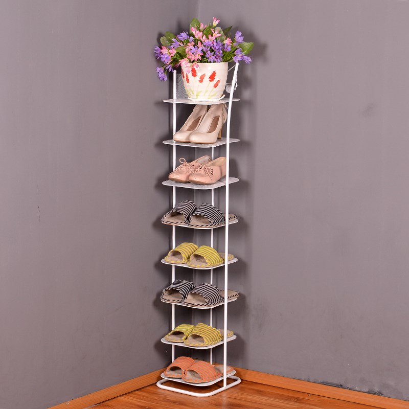 Special offer European iron shoe rack seven or eight layer multilayer storage room dormitory small creative shoe rack simple shoe rack