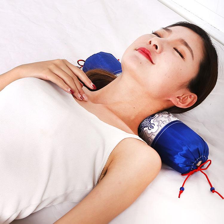 頸椎の枕ケツメイシ保健の枕ケツメイシ富硒メーカー直販ケツメイシ護頸椎の保健の枕ラベンダー