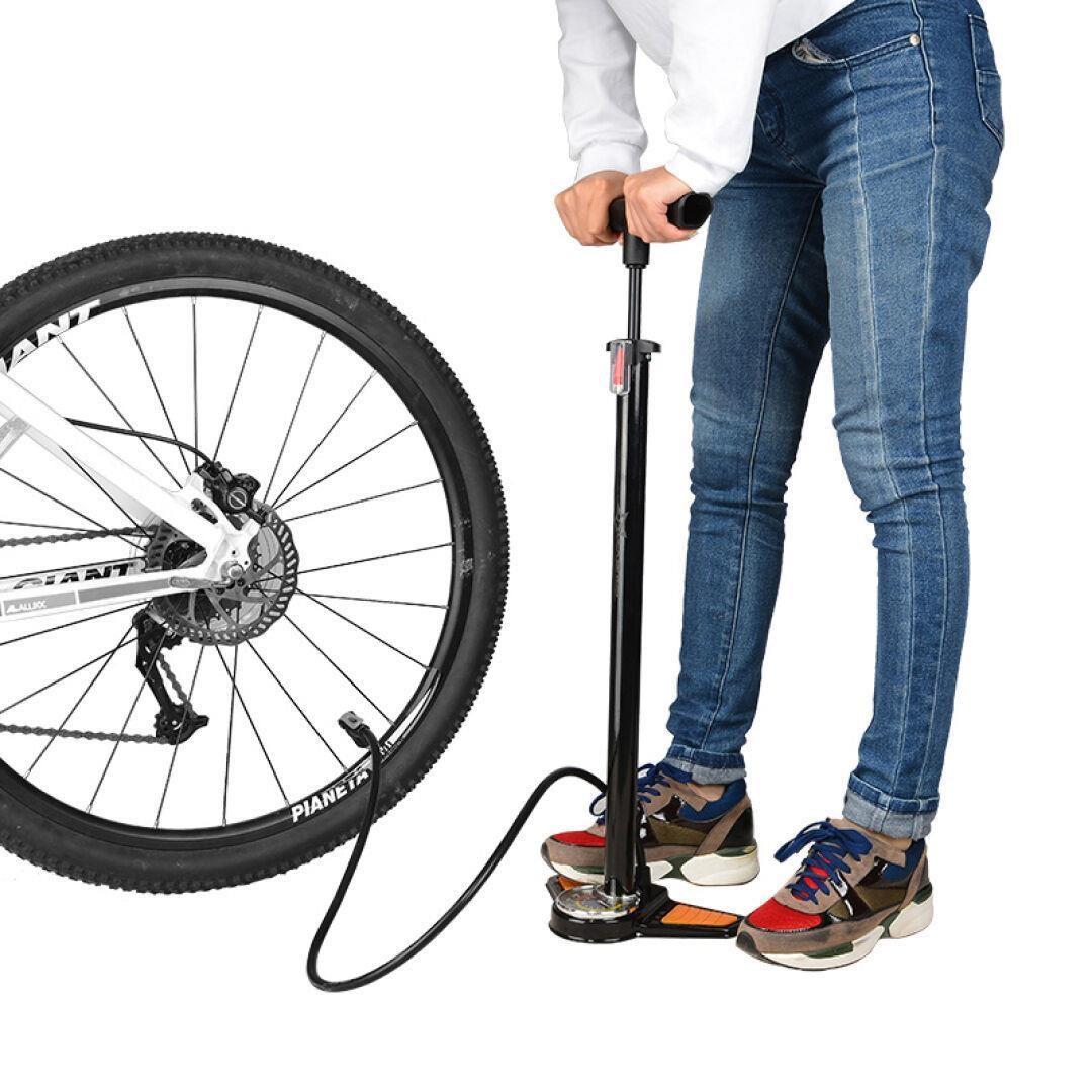 ปั๊มแรงดันสูงใช้รถจักรยานยนต์ไฟฟ้าจักรยานเสือภูเขาลงจอดแบบฟุตบอลบาสเกตบอลพอง