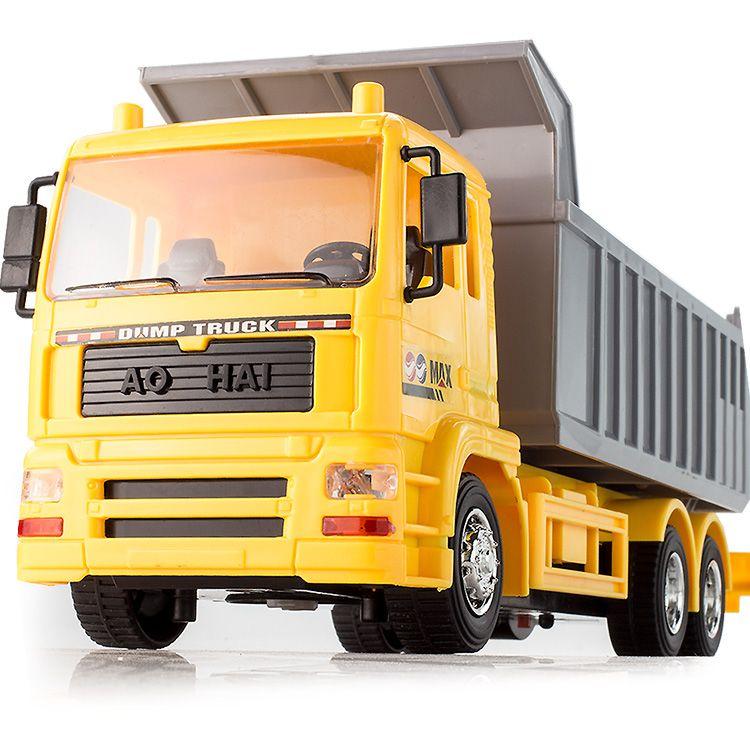 Kinder die drahtlose fernbedienung müllwagen muldenkipper Laden spielzeug - auto lkw - transporter müllwagen