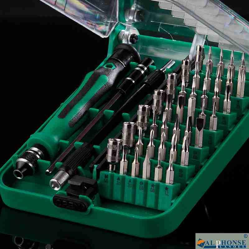 Screwdriver set, multifunctional cross screwdriver combination, universal screwdriver Hardware Maintenance Kit