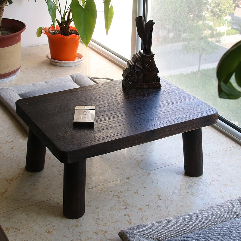 Teriyaki paulownia wood table table window window tatami bed table table table Ancient Chinese Literature Search Kang several small