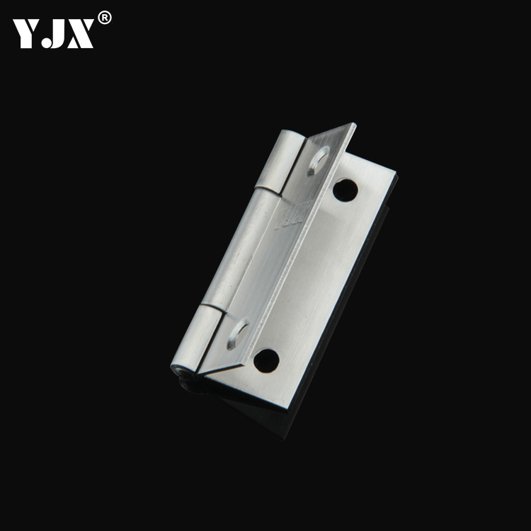 YJX door cabinet, flat open small hinge furniture, mute hinge, small folding stainless steel 2 inch thickening hinge