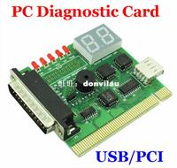 New Computer Accessories USB PC PCI Diagnostic Card USB Post