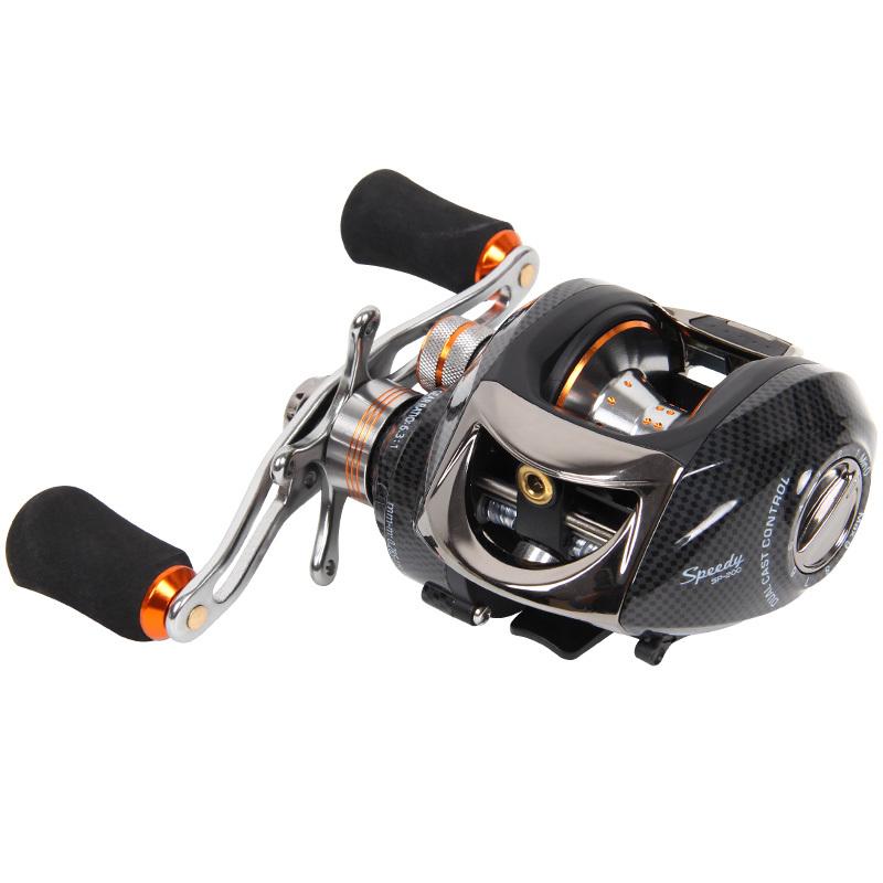 釣りの屋速派200遠心+磁力双ブレーキベイトリール左右の手路亚轮渔轮釣り糸輪