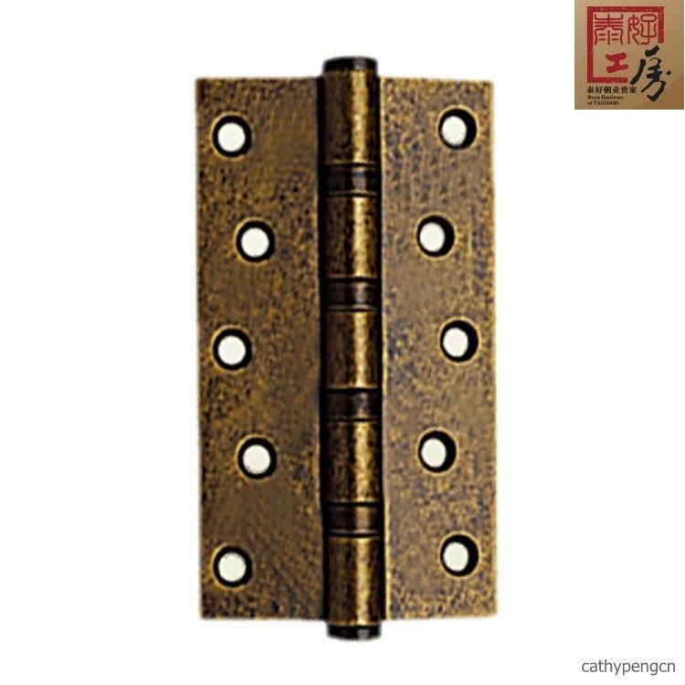 Special copper lock stainless steel imitation antique old mute 5 inch hinge door hinge th-hg5x3s