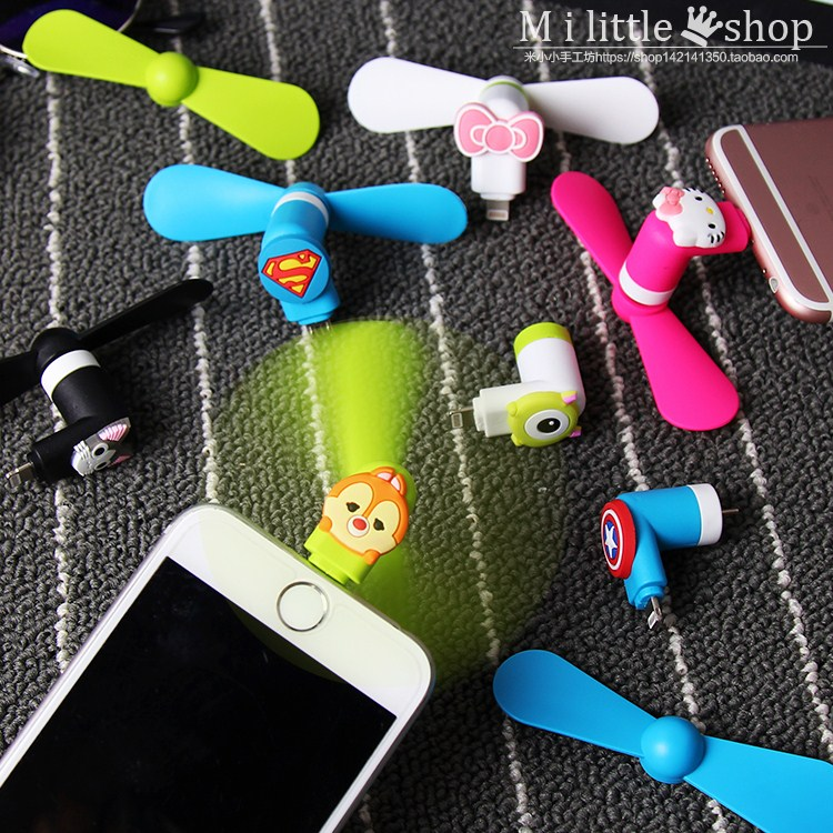 Mini pocket air conditioner, mobile phone fan, USB refrigeration, creative dormitory, small carry on