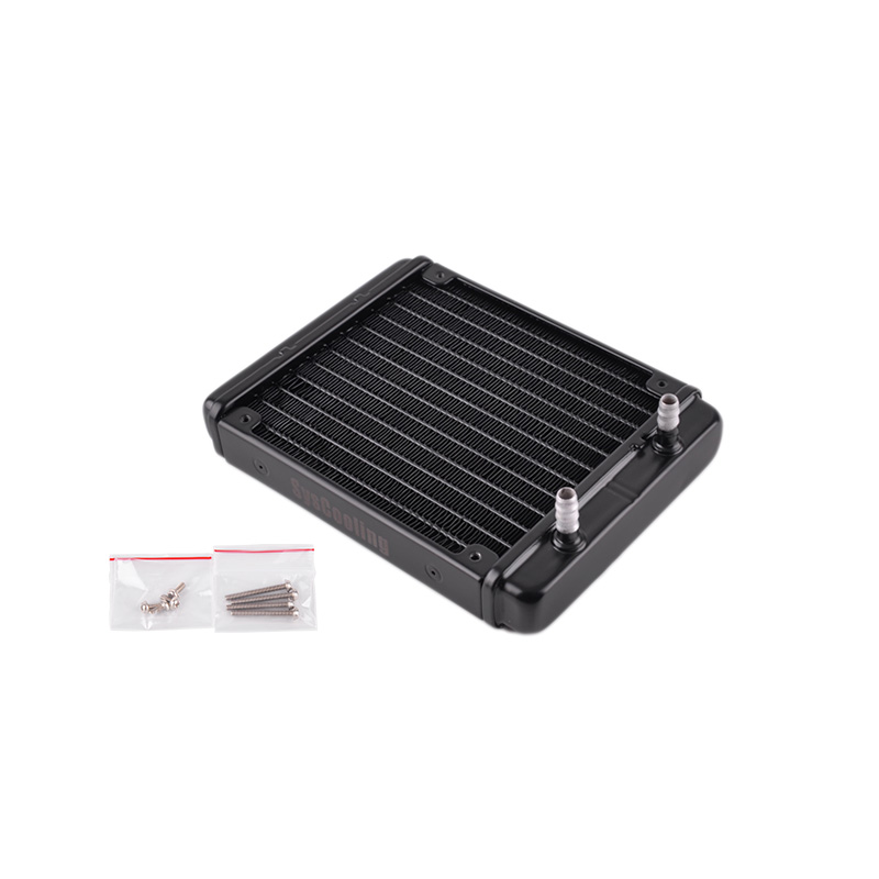 Dongyuan core Rui 12S-5 water cooling row 120 pure aluminum water radiator computer special promotion package