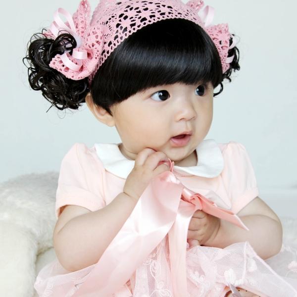 韩国婴幼儿童发带 女童发饰 女宝宝公主头饰 女孩发箍假发发带