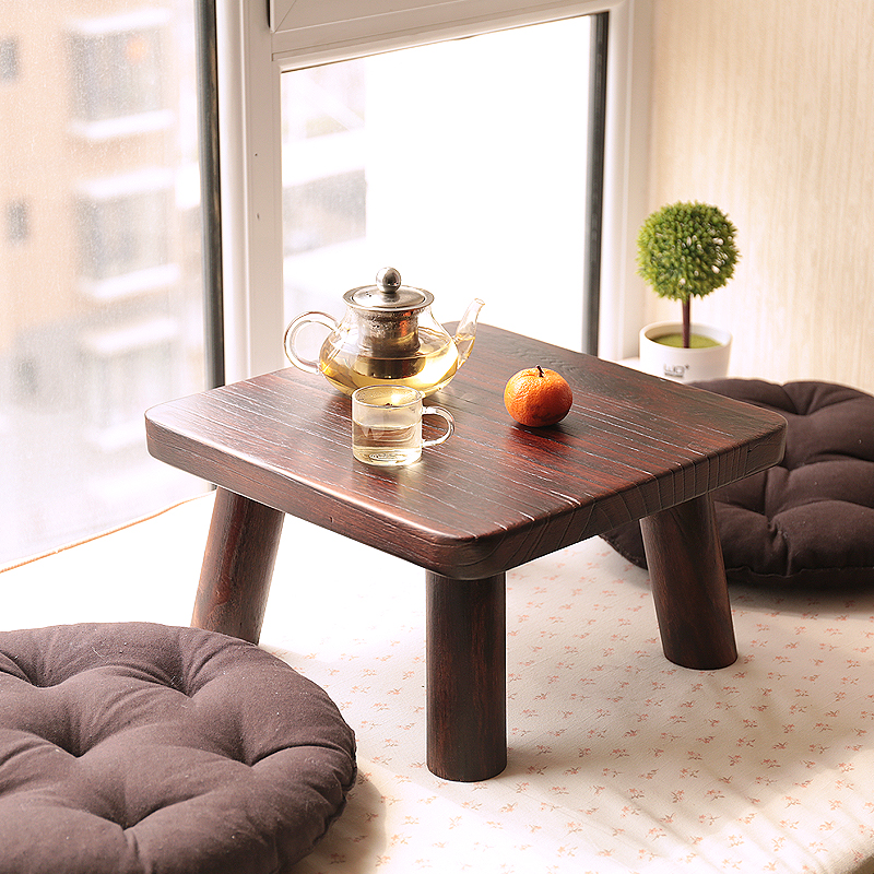 The new table table wood burning wood window sill tatami bed table, a few Kang Table special Japanese tea table