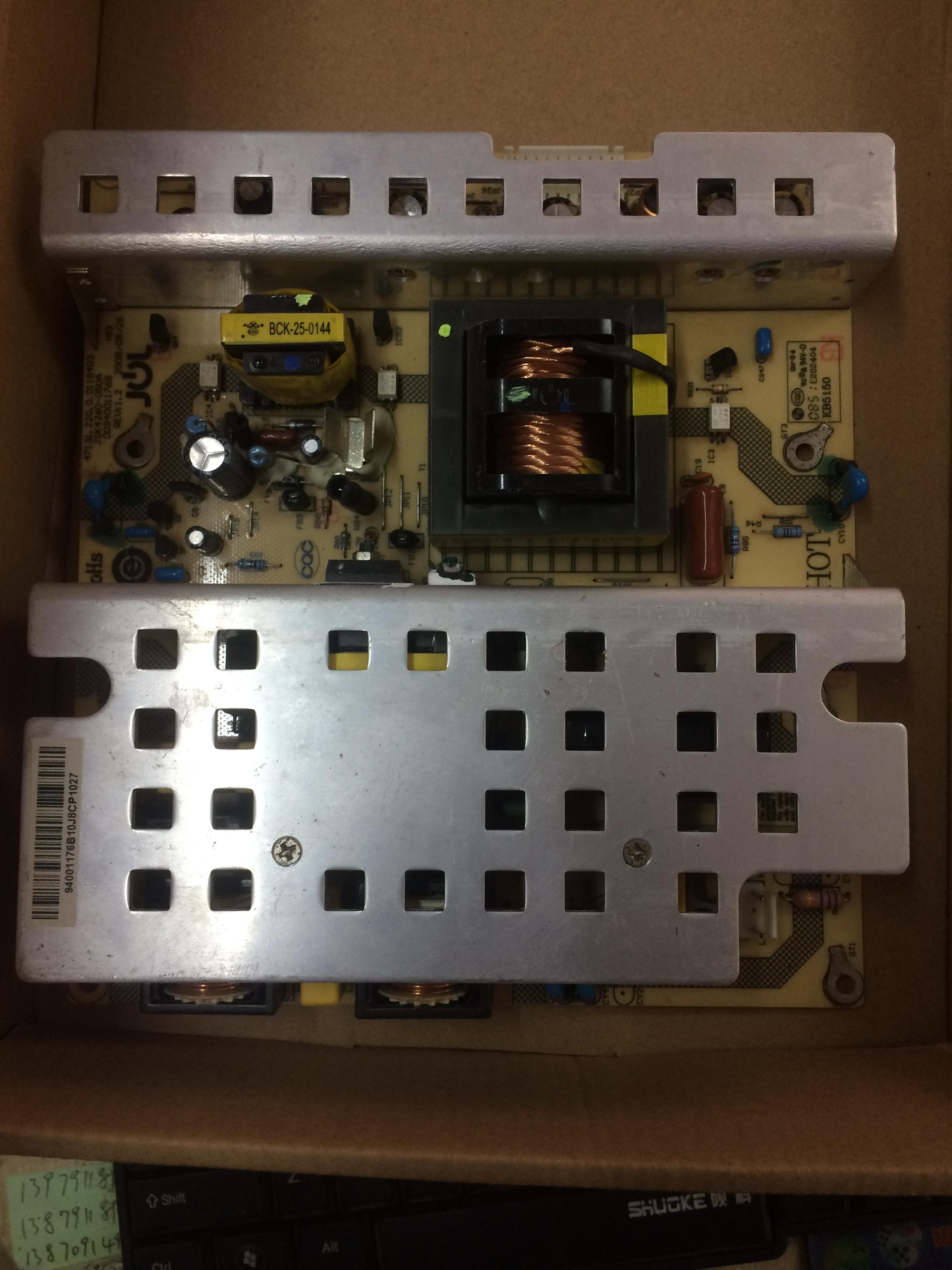Haier LP42K342 télévision à affichage à cristaux liquides d'une carte d'alimentation JSK4260-050A0094001176B