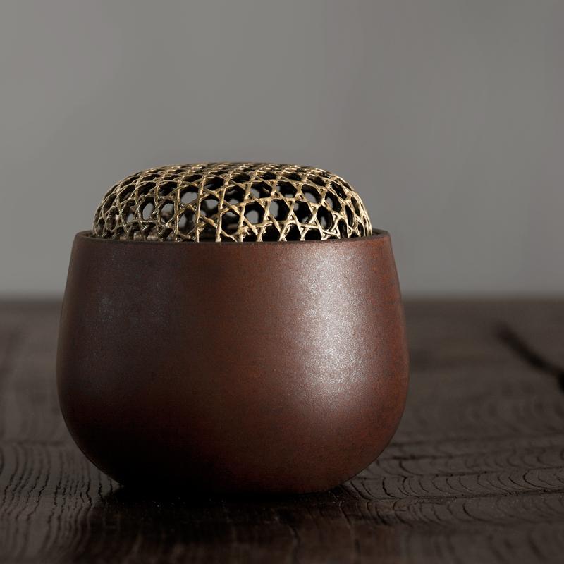 успешно ручной глиняной кадило керамические кадильницу японский аромат благовоний Ароматерапия печи реквизит