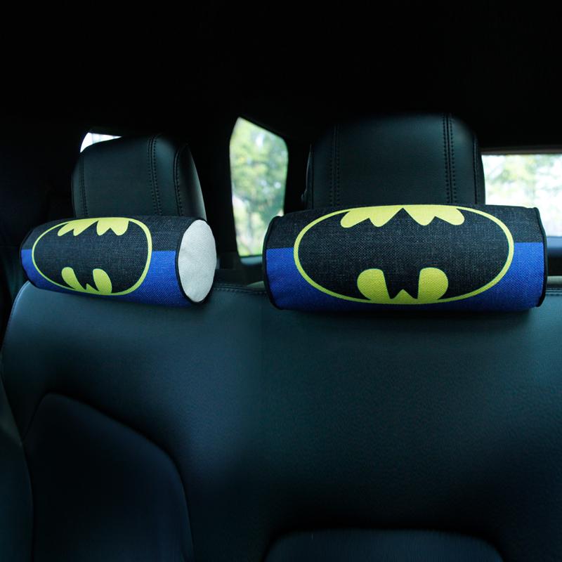 自動車のクッション頚枕に萌え萌え可愛いカップル枕円柱知能記憶綿人形車載頚枕枕