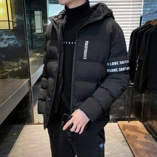 祖玛珑棉衣男士冬季外套2019新款韩版潮流冬棉服短款棉袄冬装衣服