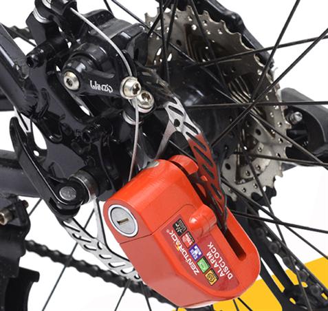 1 tipo de cerradura antirrobo importados de Taiwán moto cierra bloqueo eléctrico de bicicleta