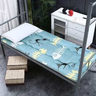 可折叠学生宿舍床垫加厚榻榻米海绵床垫双人单人寝室褥子上下铺