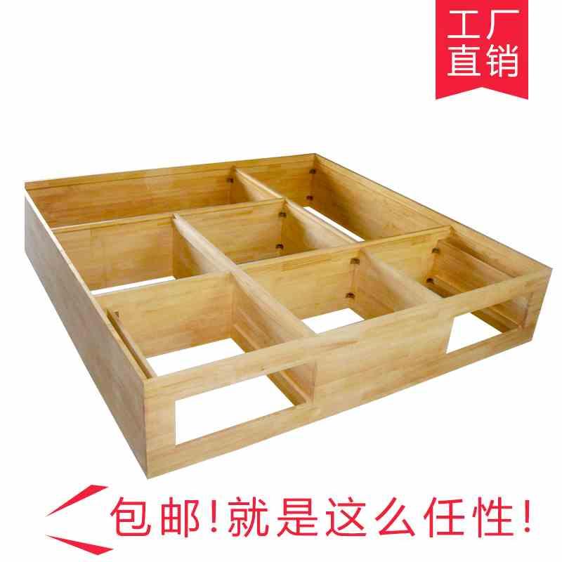 Japanese tatami custom wood platform and the whole storage box bed bedroom wardrobe bookcase full custom house