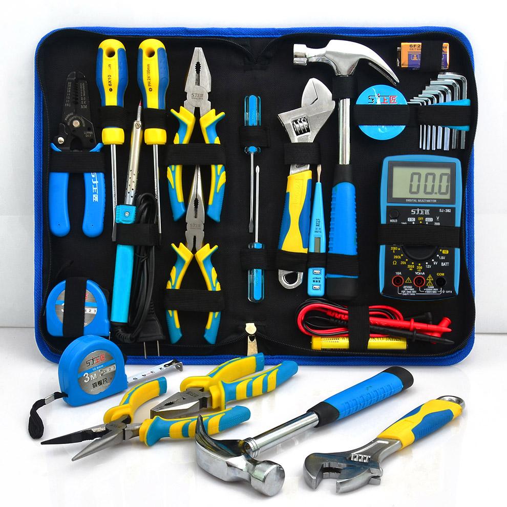Estate calda domestico Set di strumenti Hardware Kit - Kit di attrezzi Elettrici rivestiti di Lodi.