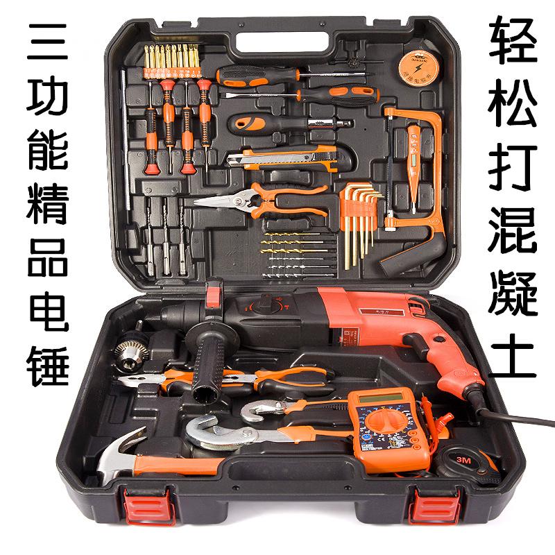 La cassetta degli attrezzi per la Lavorazione DEL LEGNO, rivestiti di Famiglia di strumenti Hardware elettricista Tedesco accusato di perforazione di manutenzione Manuale di combinazione di Famiglia