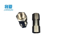 304 stainless steel six angle split check valve, stainless steel split type internal thread, one-way valve, check valve
