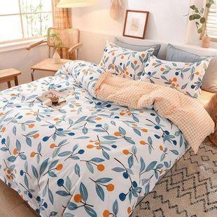 水洗棉被套单件被罩被壳宿舍被单床上用品