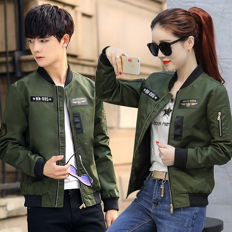 Special offer every day 2017 new men pilot jacket Korean Japanese casual coat baseball uniform couple gown
