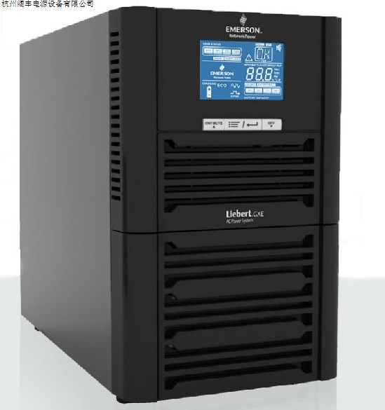 Emerson UPS3KVAGXE03k00TS1101C00/2400W built in battery backup for 10 minutes
