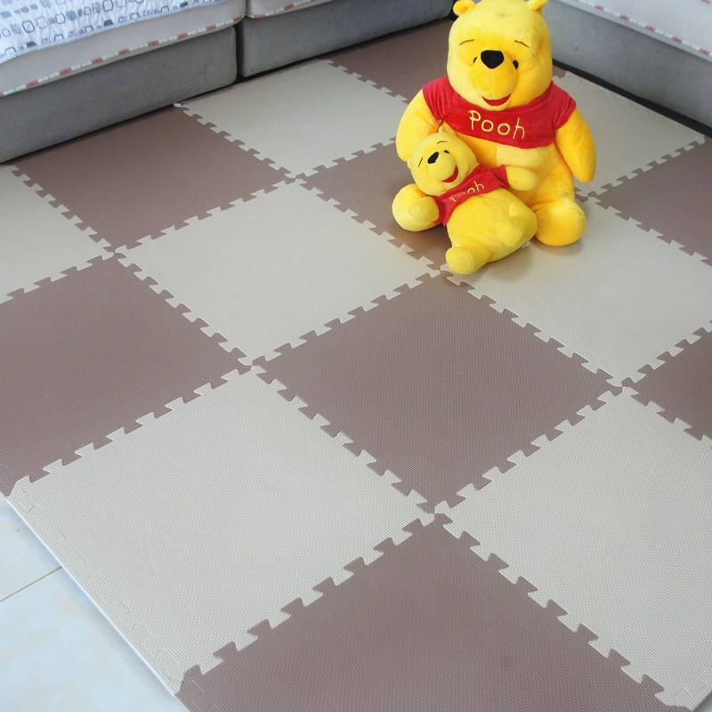 College Students' dormitory mats children bedroom carpet mosaic puzzle crawling pad thickening to 60 tatami