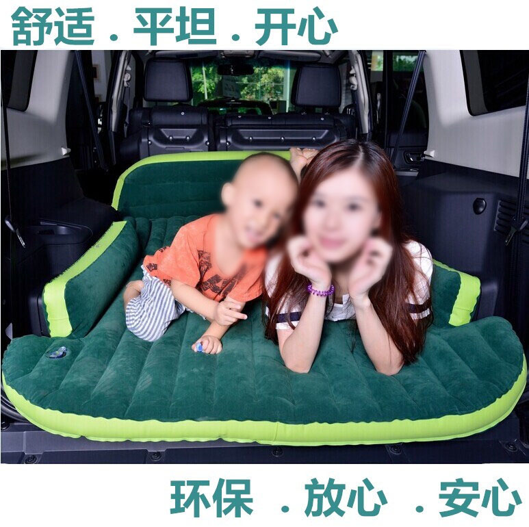 Chevrolet created a cool car after car boot Copaci SUV folding car car travel inflatable mattress bed