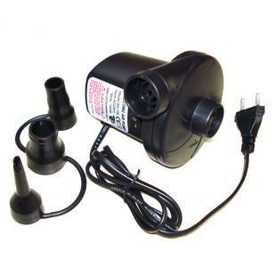 Véhicule jouet rempli de 12V 220V domestique de pompage de gaz à lit de bague de gonfleur de piscine pompe à air électrique