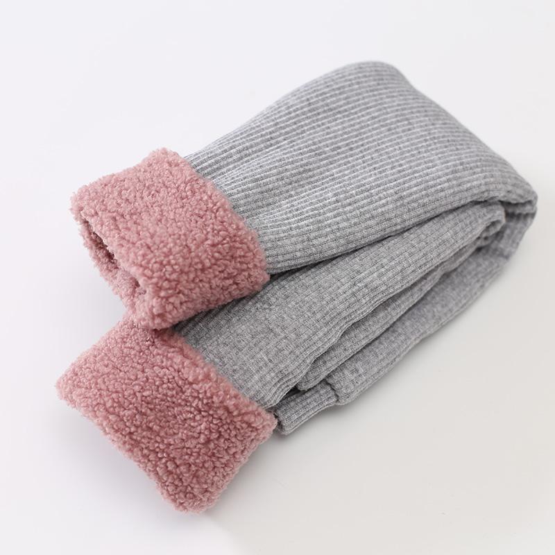 天天特价女宝宝加绒加厚打底裤外穿保暖1-3岁2女童裤子婴儿童冬装