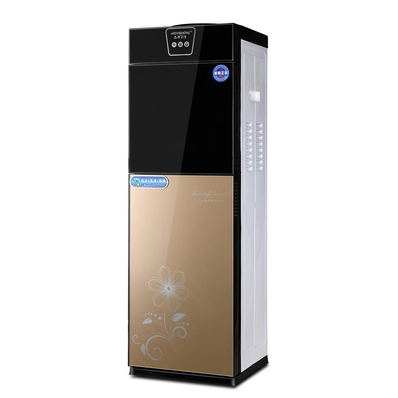 ζεστό και κρύο νερό μηχανή γραφείου κάθετη διπλό θέρμανσης και ψύξης εξοικονόμησης ενέργειας, οικιακή συσκευή πάγο ζεστό