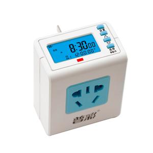 普彩 定时器开关插座 家用智能 电源电动车充电预约循环自动断电