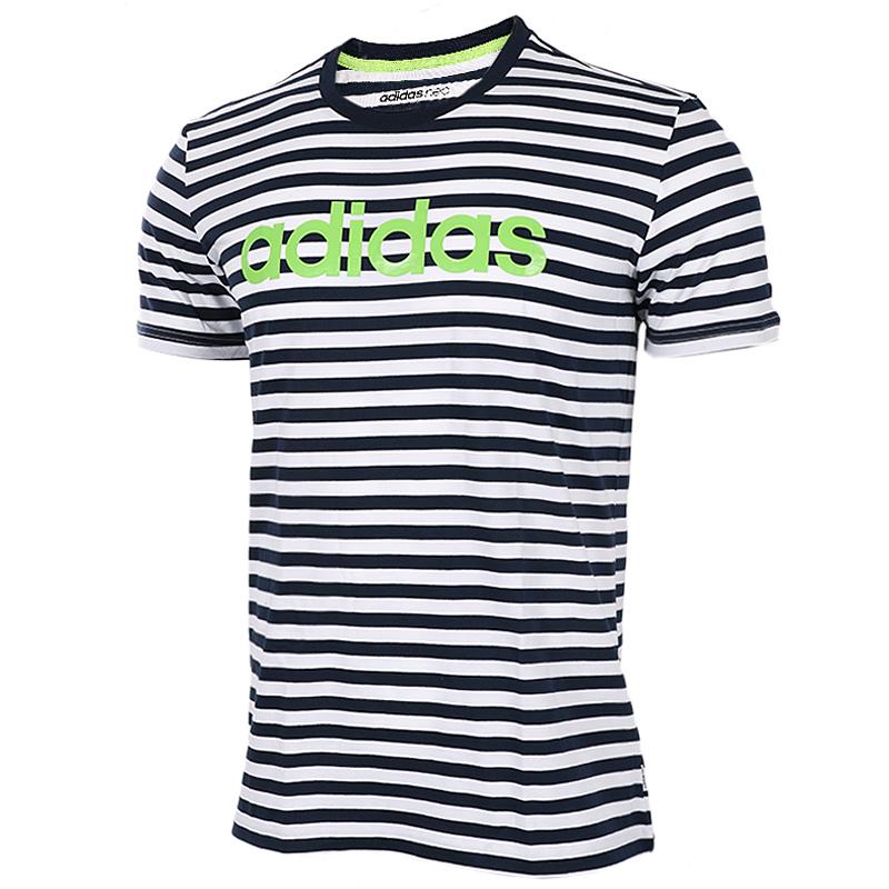 противодействия подлинным 2017 летом Adidas нео - мужчин и женщин CF6177CF6178 любителей футболка