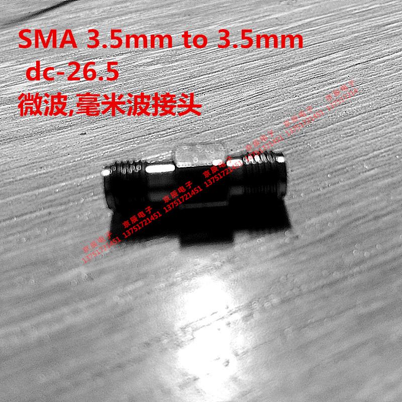 SMA3.5mm 3.5mm dc-26.5 adaptador hembra a hembra adaptador de ondas microondas de alta frecuencia