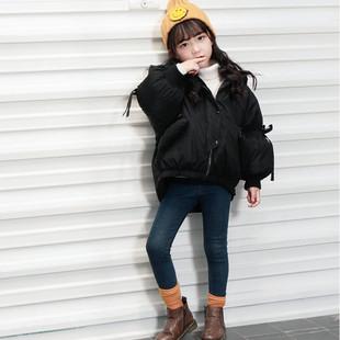 儿童棉衣冬季外套女童潮冬装新款女孩棉袄中小童韩版加厚羽绒棉服